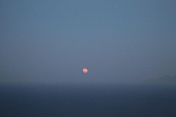 Moon rise, Santorini, Dace & Gilles photography